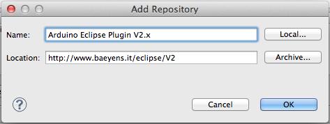 Arduino Eclipse IDE and Plugin V2 2 installation | Trippy Lighting