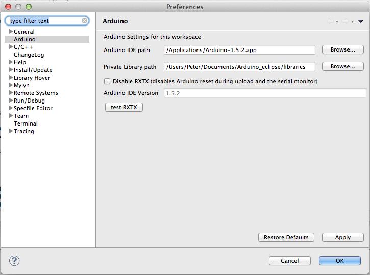 Arduino Eclipse Plugin V 2 1 0 4 installation   Trippy Lighting