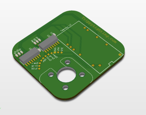 RGB LED control PCB